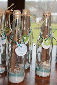 Message In Bottle Invitations #fooddecoration, #food, #cooking, https://facebook.com/apps/application.php?id=106186096099420