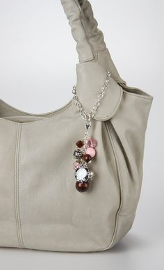 Bag Bling Pink Chocolate Purse Jewelry by Blingtimeaccessories, $15.50