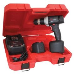 "Chicago Pneumatic 3/8"""" Drive 12 Volt Cordless Drill Kit CPT8335L"