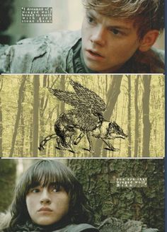 """Bran- """"I dreamed of a winged wolf bound to earth with grey, stone chains."""" Jojen- """"You are that winged wolf, Bran"""" by thesongofice #GameofThrones"""