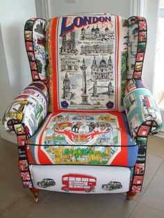 London Tea Towel Chair