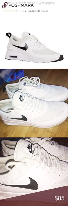 NWT Nike Air Max Thea (Runs small!!) Nike Air Max Thea NWOT! Awesome shoes, just got the same ones for my birthday!! Any questions please ask. They DO run more like an 8.5 than 9 Nike Shoes Sneakers