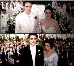 Breaking Dawn.  Nightmare vs. Dream wedding.