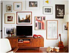 6 Ways to Display Your TV #MyManicuredLife