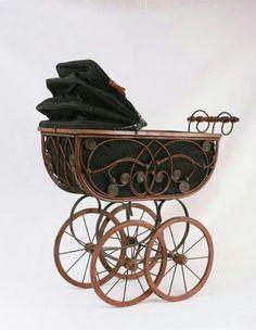 Art Nouveau baby carriage
