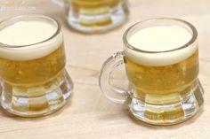 Little beer shots, liquor 43 chilled, then float heavy cream on top. MMMMMM