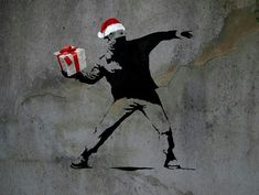 Arte callejero - Street art. Banksy 'Merry Christmas'