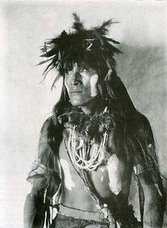 The Snake Priest, Hopi. 1901.