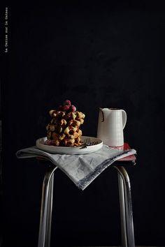 gaufres013 Gaufres liégeoises et sauce chocolat aux framboises