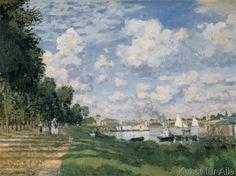 Claude Monet - Bacino Argentuil