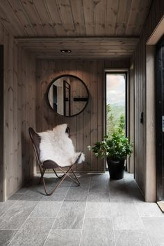 Scandinavian Cabin, Modern Bungalow Exterior, Sauna House, Ski Lodge Decor, Sauna Design, Interior And Exterior, Interior Design, Cabin Homes, Hygge