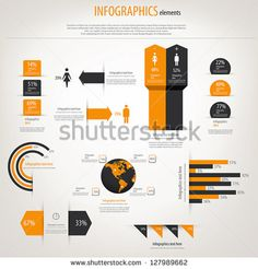30 templates vector kits to design your own infographic pie retro infographics set world map and information graphics vector stock vector sciox Images