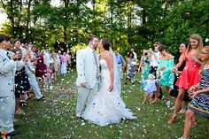 There is so much joy in this gorgeous getaway shot from Elizabeth Looney Photography! Love it! Click the image link to call her today about capturing your wedding!