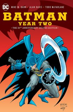 Batman: Year Two 30th Anniversary Deluxe Edition With only a year's experience as Gotham City's new protector, Batman must now confront a nightmare out of the past—a distorted reflection of himself called the Reaper, who hunted Gotham's criminals a generation earlier. His methods were harsh and cruel, and violent in the extreme. Now, just as a new breed of criminal is rising, the Reaper has returned to deal out his savage brand of justice. And the only way for Batman to stop this…