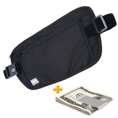 Travel Money Belt for Men  Women - Rfid Blocking Security Waist Pouch * Be sure to check out this awesome product.