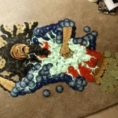 Music Icons Made From Recycled CDs