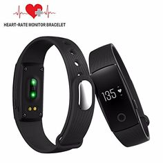 GZDL Fitness Tracker With Heart Rate Monitor Bluetooth Smart Bracelet Band Touch Screen Activity Tracker Pedometer Caller ID Text Message Alarm Calories Burned Sleep For Android iPhone Women Men Black *** Check out this great product. (Note:Amazon affiliate link)