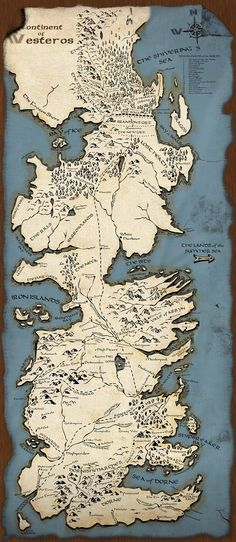 Welcome to Westeros. Read the books, watch the show. Love it hardcore. George R. R. Martin - Song of Ice and Fire