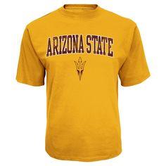 NCAA Arizona State Sun Devils Men's Logo Phrase Synthetic T-Shirt - Xxl,