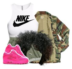 """""""❤"""" by siniababy ❤ liked on Polyvore featuring Carhartt, H&M and NIKE"""