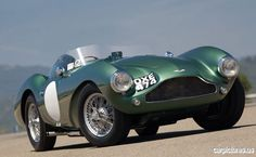 1955 Aston Martin DB3S. More Car Pictures:  http://carpictures.us