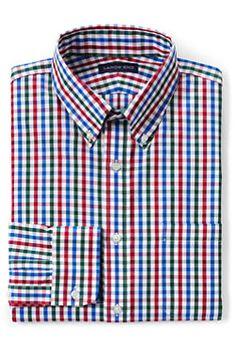 Men's Tailored Fit 40s Poplin Dress Shirt