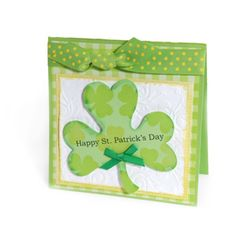 st patrick's day cards ideas | Sizzix.com - Happy St. Patrick's Day Card