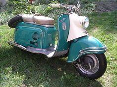 Berliner Roller IWL Oldtimer 07/1960