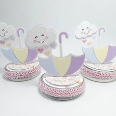 Raindrop Baby Shower, Cloud Party, Baby Shawer, Ideas Para Fiestas, Party In A Box, Goodie Bags, Unicorn Party, Baby Shower Favors, Cool Baby Stuff