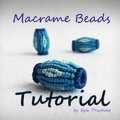 This micro macrame bead tutorial is available for immediate download - pattern for DIY jewelry making. This listing is for a micro macrame TUTORIAL only, not for finished beads. Digital item includes instructions to making beautiful Macrame Beads with no visible joints, the technique I perfected for my own Jewelry Making. I included 19 pages with over 50 photos and step by step instructions, materials and tools needed.  This pattern does not include directions for the actual knots, and…