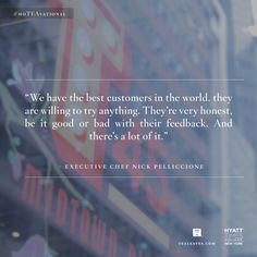Wise words on what it's like to cook for New Yorkers from Hyatt Times Square New York Chef Nick Pelliccione. Find his story and the wonderful smoked tea ramen recipe on the Tealeaves Folio.