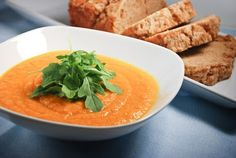 Ava Catau :: You are what you eat.: Lemon-Ginger Carrot Soup