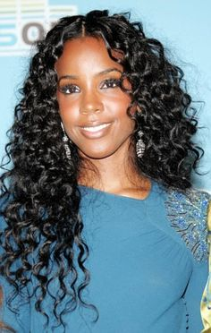 Swell Curly Weave Hairstyles Curly Weaves And Weave Hairstyles On Pinterest Hairstyle Inspiration Daily Dogsangcom