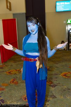 love the high pants with red belt for female genie  sc 1 st  Pinterest & disney aladdin genie girl costume - Google Search | Once on this ...