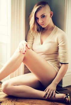 #NatalieDormer in #GQ's April Issue talking about rocking her #Mockingjay buzz cut: http://www.panempropaganda.com/movie-countdown/2014/3/27/natalie-dormer-featured-in-gqs-april-issue.html