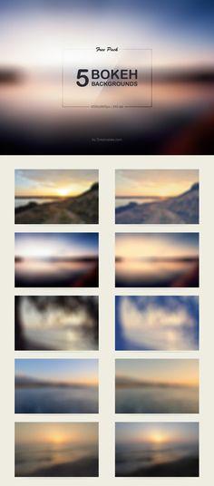 5 Free Bokeh Backgrounds
