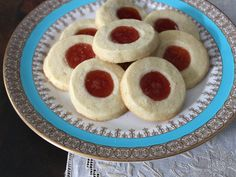 Cuban Sugar Cookies with Guava and Lime (Torticas de Morón)