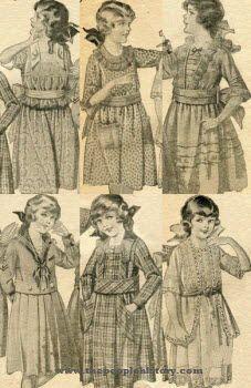 1920s girls dresses