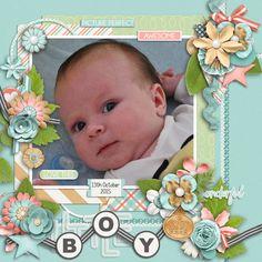 Layout: Sweet little boy