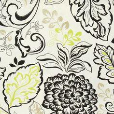 Belgravia Lime cotton print