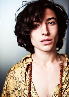 Ezra Miller, a great choice for Lord President Percival!