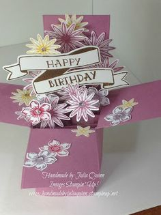 handmade by Julia Quinn - Independent Stampin' Up! Demonstrator: Stampin Up…
