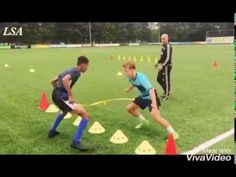 Legends Soccer Academy Pro Private training - YouTube Soccer Footwork Drills, Football Coaching Drills, Soccer Training Drills, Soccer Workouts, Soccer Tips, Soccer Games, Best Football Skills, Football Is Life, Barcelona Training