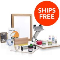 Screen Printing Starter Kit | Silk Screening Supplies