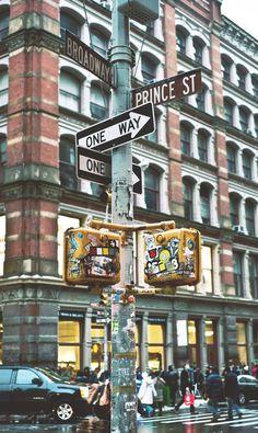 Broadway n Prince, NYC