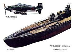 Flugzeug im Gepäck:  Die drei Bomber, die die Hauptbewaffnung der U-Boote der...