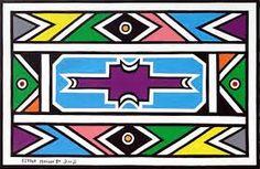 Afbeeldingsresultaat voor ndebele art Loom Patterns, Textile Patterns, Floral Patterns, African Design, African Art, Africa Symbol, African Textiles, African Patterns, Africa Day