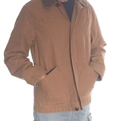 LL Bean Men's Field Coat Very Lightly used,  like new condition.  Excellent quality/craftsmanship.  2-ply 10oz cotton canvas.  Cotton lining with nylon lined sleeves.  Corduroy collar and cuffs.  Underarm gussets and bi-swing shoulders. 2 outside pockets, 2 inside (one with zipper for safe keeping of valuables). Very comfortable jacket. L.L. Bean Jackets & Coats Utility Jackets