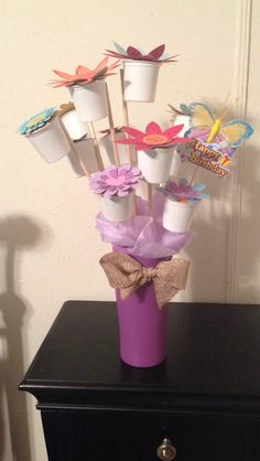 K-cup bouquet i made