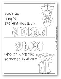 3rd Grade Thoughts: Adding Some Fun Into Teaching Subjects & Predicates